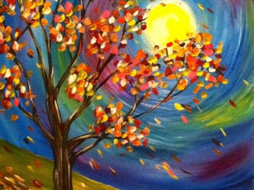 Paint Night & Dessert